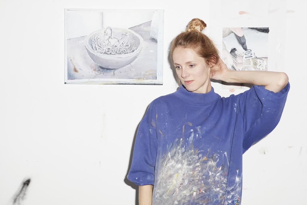 Mireille Blanc, Portrait by Vincent Ferrane
