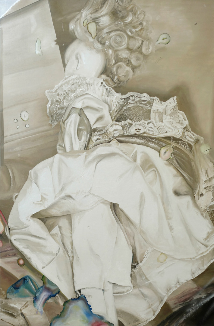 Mireille Blanc, Composition, 2018