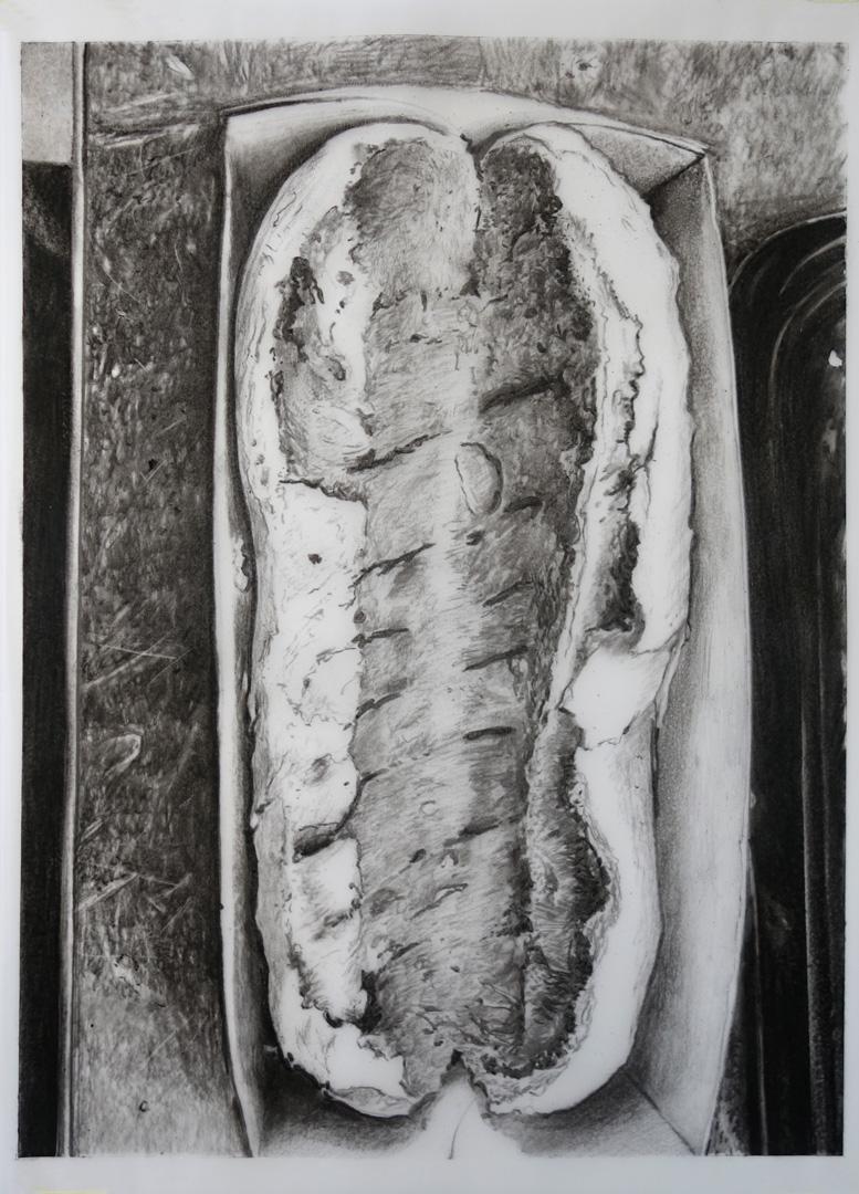 Mireille Blanc, Hot-dog, 2019