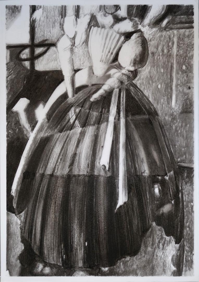 Mireille Blanc, Coquille, cône, 2018