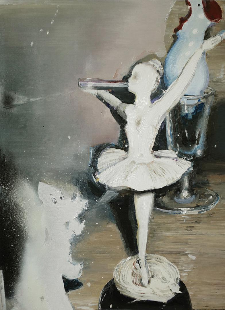 Mireille Blanc, Danseuse, 2014