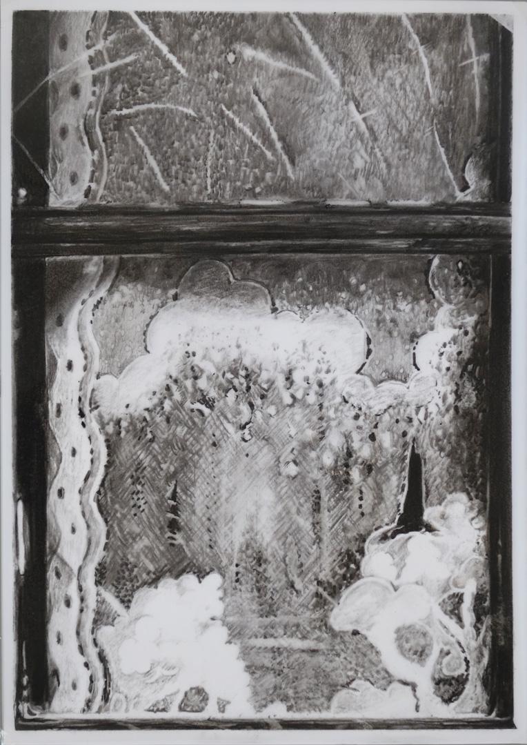 Mireille Blanc, Grand rideau 2, 2018