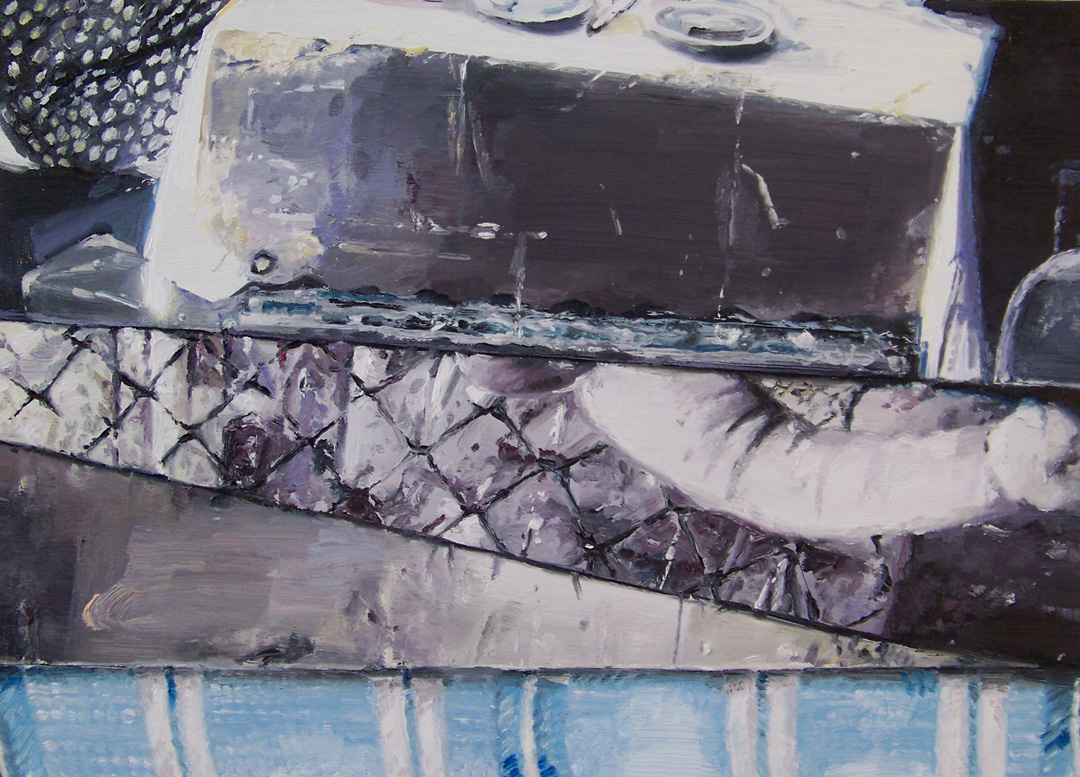 Mireille Blanc, Inventaire, matelas, 2014