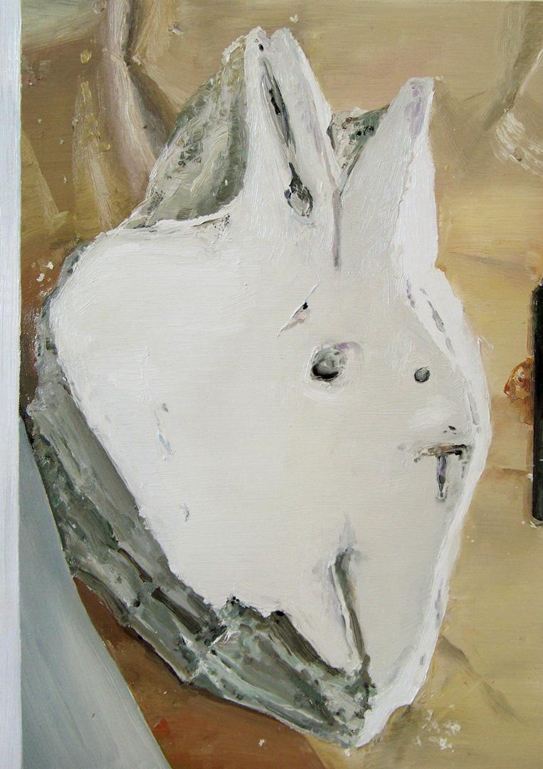 Mireille Blanc, Le lièvre, 2013