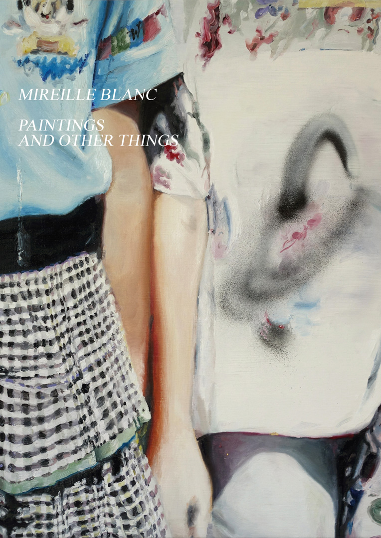 Mireille Blanc, Paintings and other things, 2017